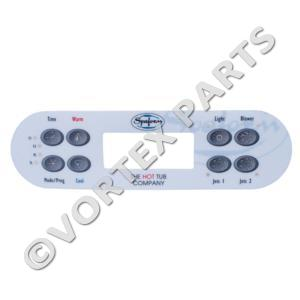 Spaform ML700 Overlay 8 Button (replacement)